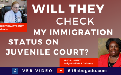Immigration Attorney in Nashville, Sean Lewis Interviews Judge Sheila Calloway