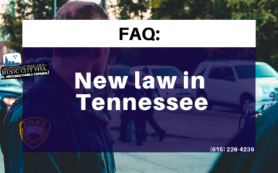 New Law in TN: Frequent Asked Questions